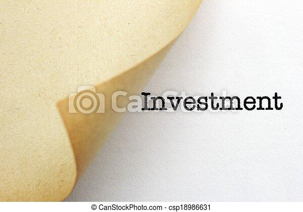 Investment - csp18986631