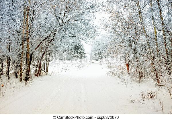 invierno, callejón - csp6372870