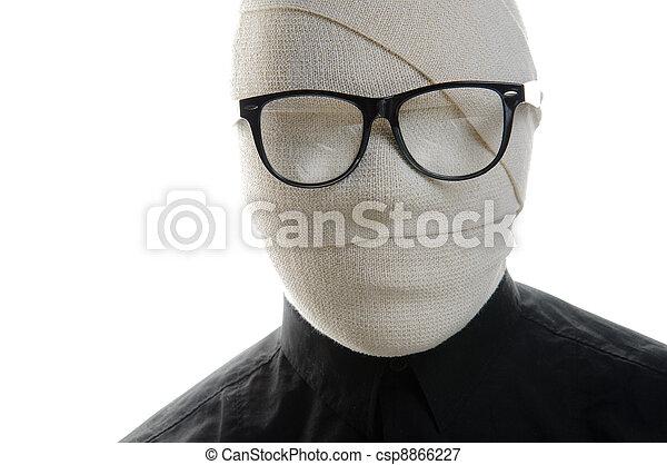 Invisible man - csp8866227
