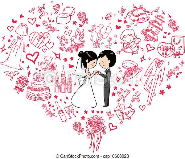 Invitación de boda - csp10668023