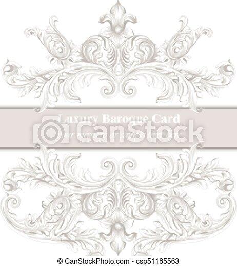 Invitation card vector royal victorian pattern ornament clip invitation card vector royal victorian pattern ornament baroque backgrounds primrose pink and stopboris Images