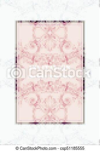 Invitation card vector royal victorian pattern ornament rich invitation card vector royal victorian pattern ornament rich baroque backgrounds primrose pink stopboris Gallery
