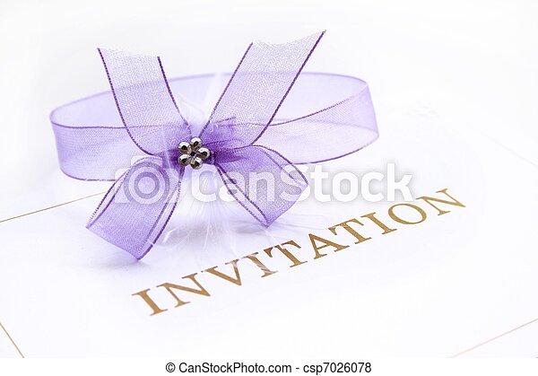 Invitation  - csp7026078
