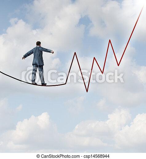 inwestując, ryzyko - csp14568944