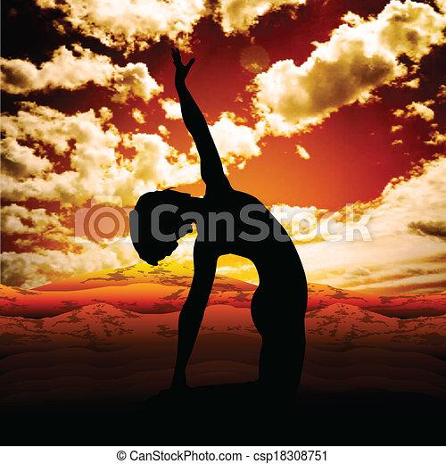 ioga - csp18308751