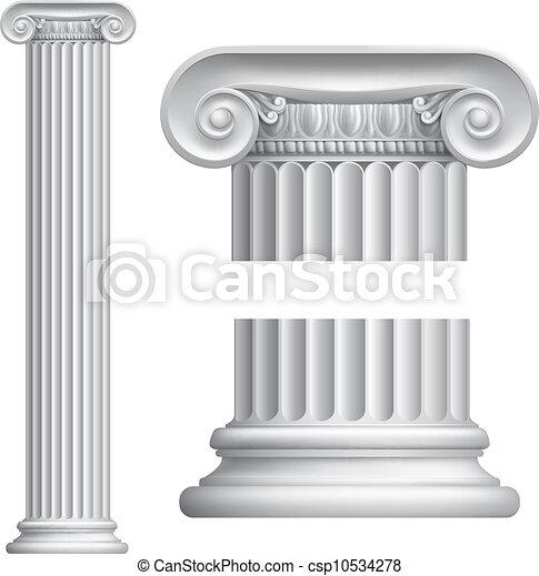 Ionic column - csp10534278