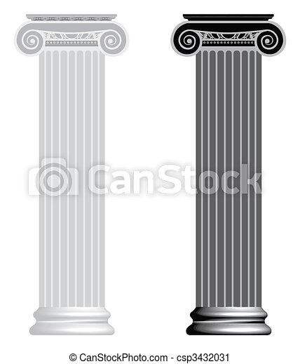 ionisch, column. - csp3432031