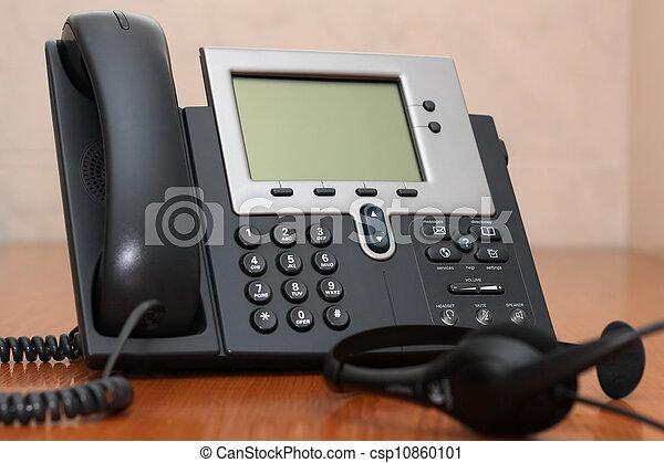 IP Phone with headset - csp10860101