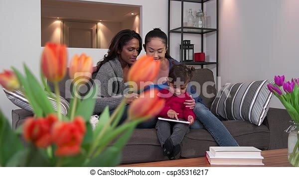 Mamma lesbica clip