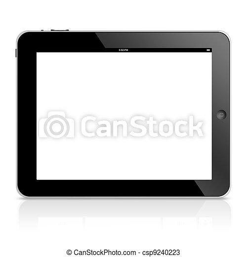 ipad, komputer, tabliczka - csp9240223