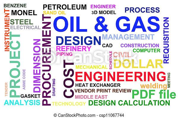 iparág, olaj, gáz - csp11067744