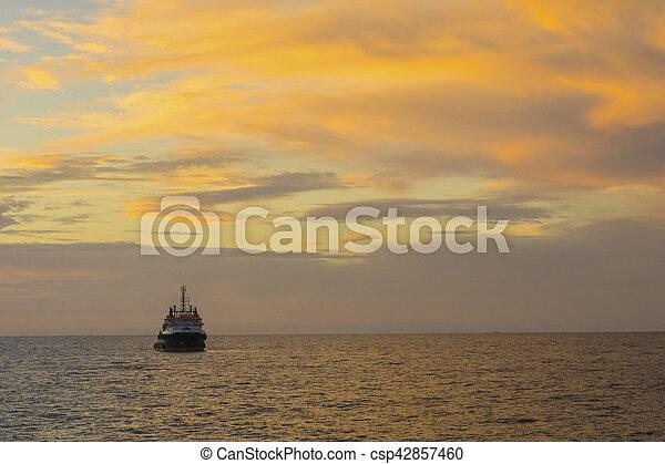 iparágak, olaj, gáz - csp42857460