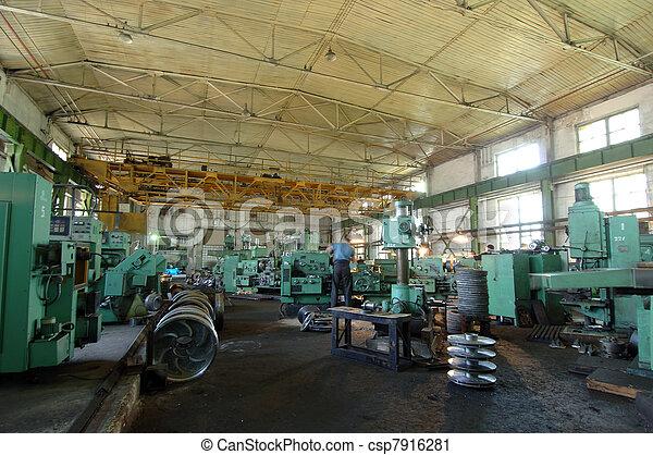 ipari, hely - csp7916281