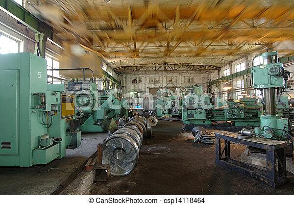 ipari, hely - csp14118464