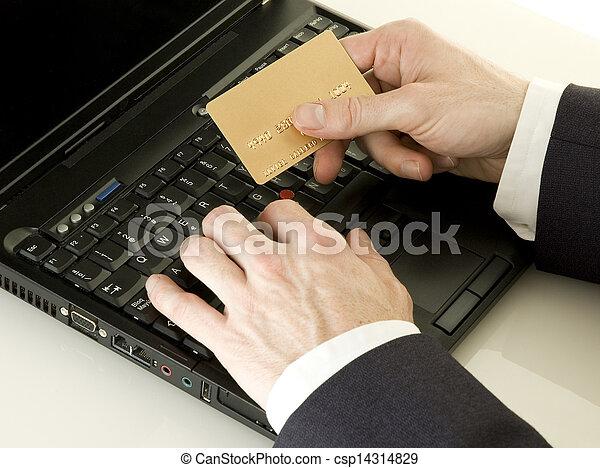 Comprando en línea - csp14314829
