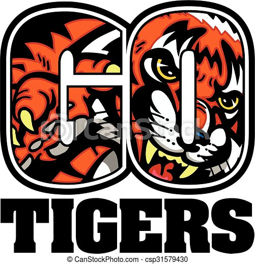 Vamos tigres - csp31579430