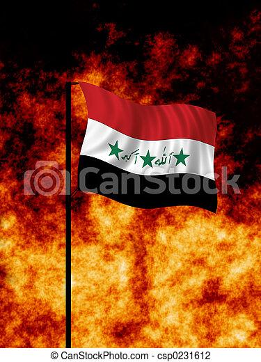 irak, krig - csp0231612