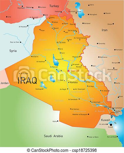 Iraq country - csp18725398