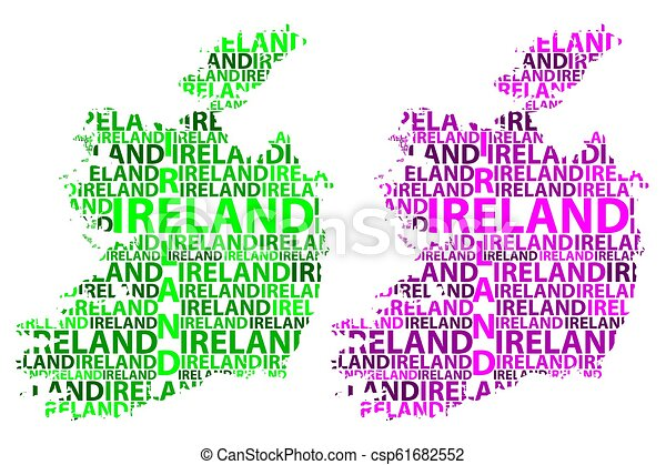 Sketch Map Of Ireland.Ireland Map