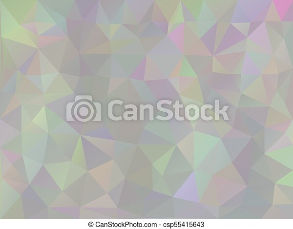 Iridescent Geometric Background - csp55415643