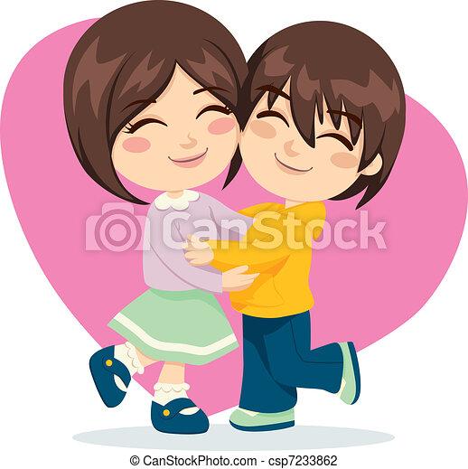 irmã, amor, irmão - csp7233862