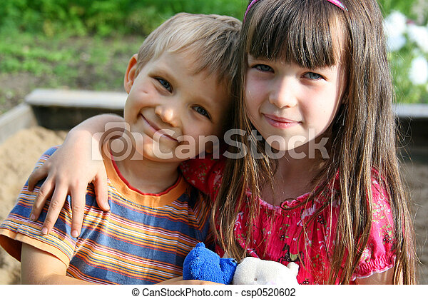 irmã, irmão - csp0520602