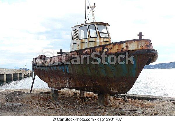 iron boat - csp13901787