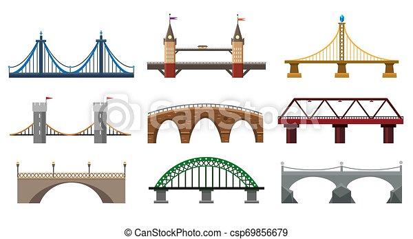 Iron bridge set - csp69856679