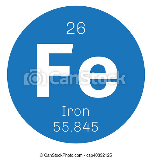Iron Chemical Element One Of The Most Common Elements On Earth
