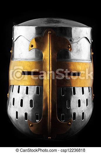 Iron helmet - csp12236818