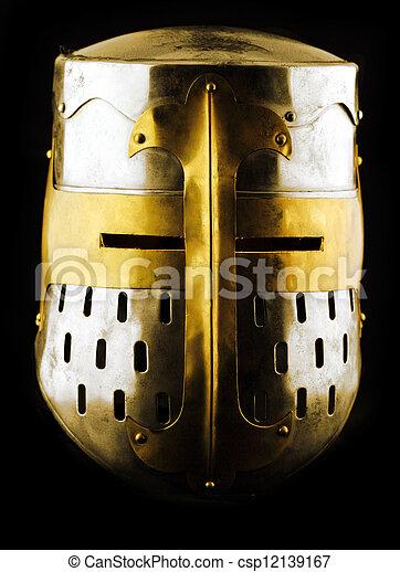 Iron helmet - csp12139167