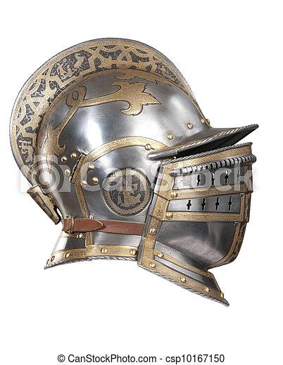 Iron helmet - csp10167150