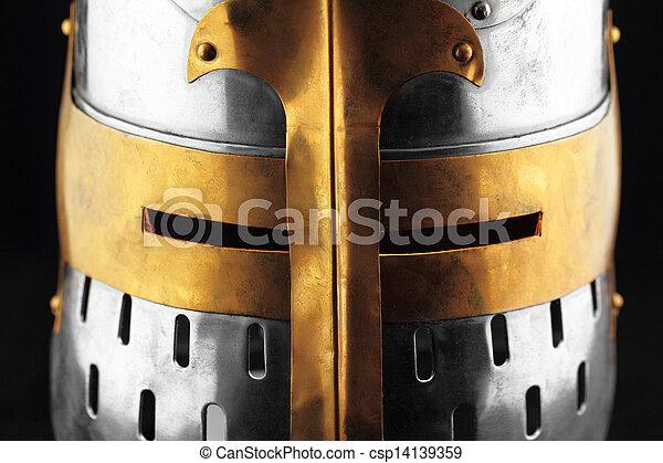 Iron helmet - csp14139359