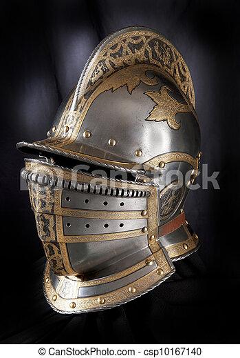 Iron helmet - csp10167140
