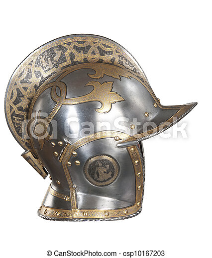Iron helmet - csp10167203