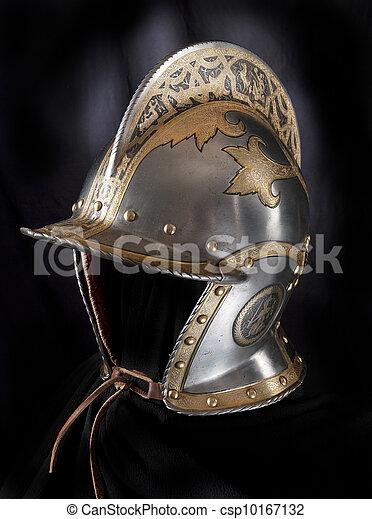 Iron helmet - csp10167132