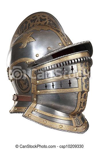 Iron helmet - csp10209330