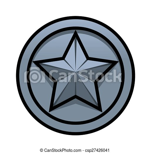 Iron star - csp27426041