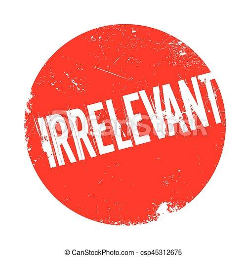 Irrevant
