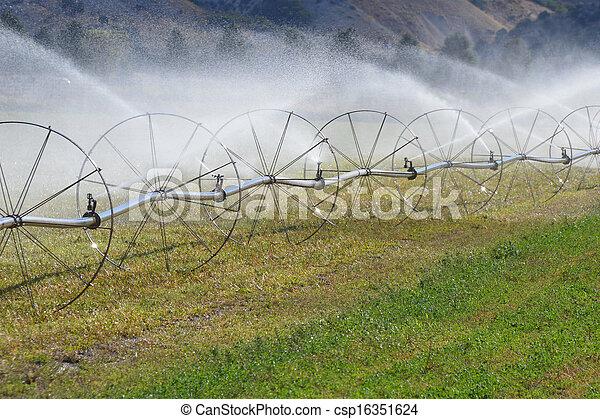 Irrigation Sprinkler Wheels - csp16351624