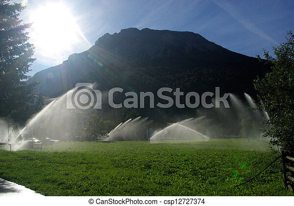 irrigation system 10 - csp12727374