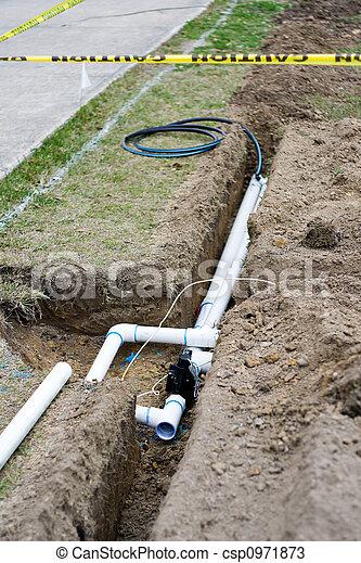 Irrigation System Installation - csp0971873