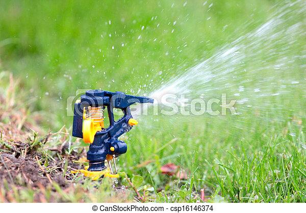 irrigation system - csp16146374