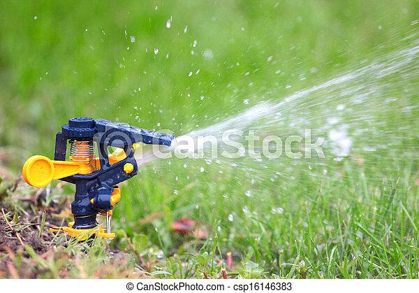 irrigation system - csp16146383