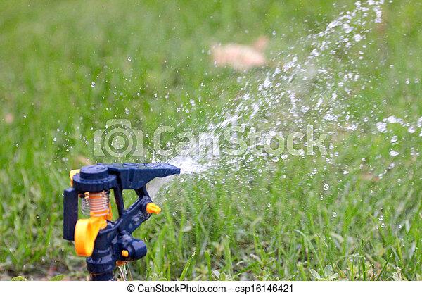 irrigation system - csp16146421