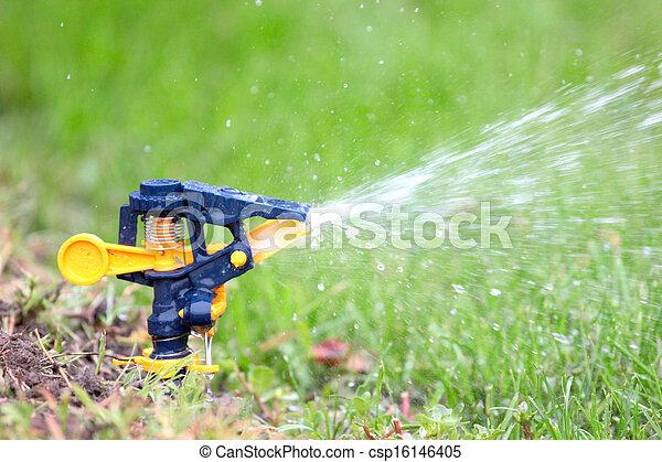 irrigation system - csp16146405