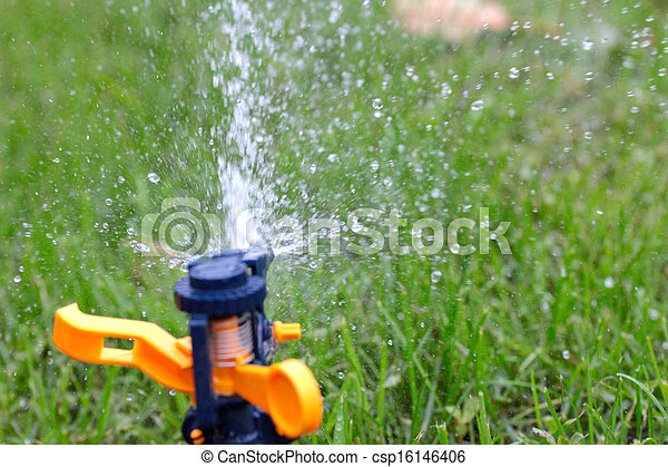 irrigation system - csp16146406