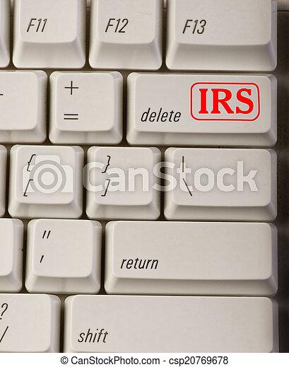 IRS Delete Button. - csp20769678