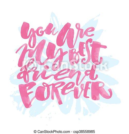 iscrizione, motivazione, poster., amicizia, giorno - csp38558985