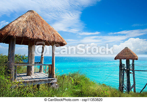 Isla Mujeres Caribbean Sea. Mexico  - csp11353820